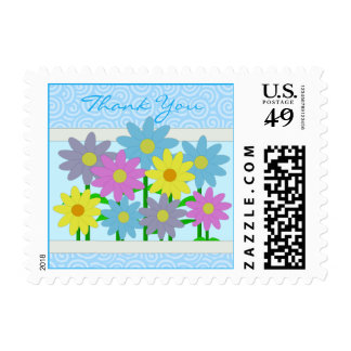 Small Size Spring Blooms Stamps