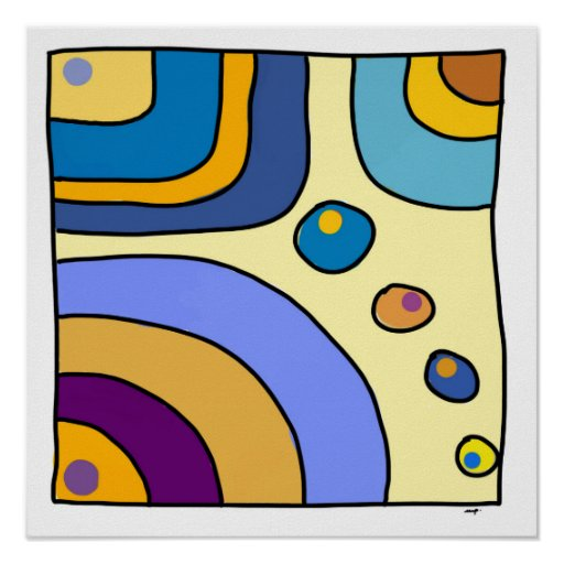 small size square poster �bubble gum art quot poster zazzle