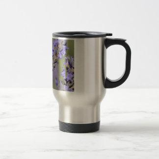 Small skipper butterfly on lavender mug