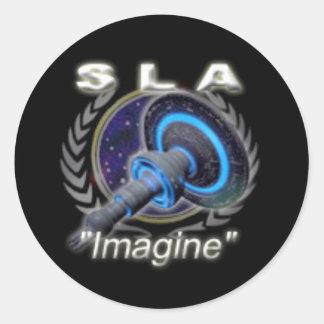 Small SLA Sticker - Retired Logo