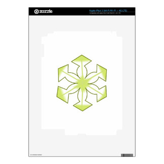 SMALL SNOWFLAKE iPad 3 SKIN
