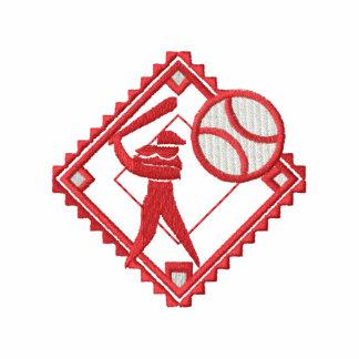 Small Softball Logo Embroidered Polo Shirt