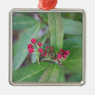 Small Spring Blooms Metal Ornament