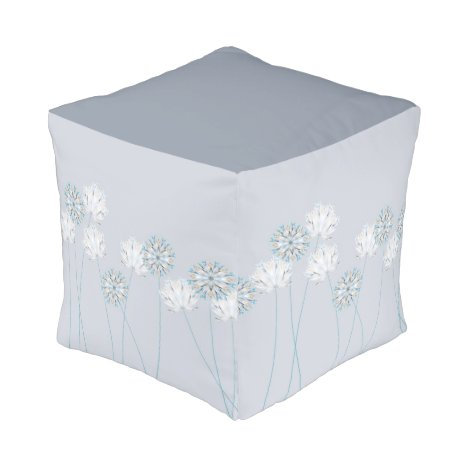 Small - Spring Flowers Pouf