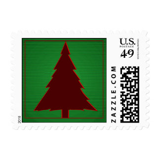 Small Square Christmas Postage Stamps