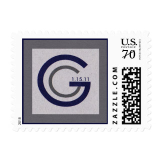 Small Square GG, 1.15.11 Postage Stamps