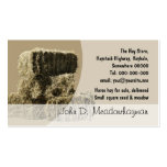 Small square hay bales stack Double-Sided standard business cards (Pack of 100)