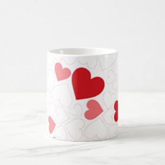 Small St. Valentine's day hearts - Classic White Coffee Mug