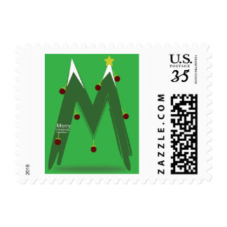 Small STAMP  - MERRY CHRISTMAS M