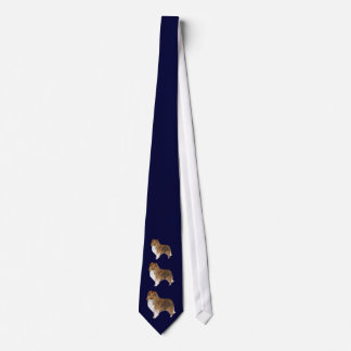 small standing shelty necktie