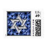SMALL Star of David Bar Mitzvah Postage Stamp