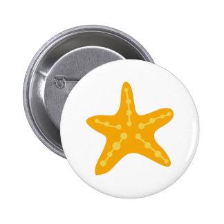 Small Starfish Button