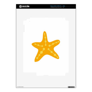 Small Starfish iPad 2 Skins