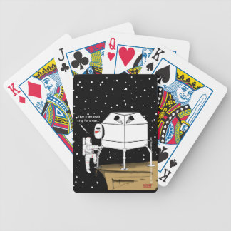 """""""Small Step"""" Bicycle Playing Cards"""