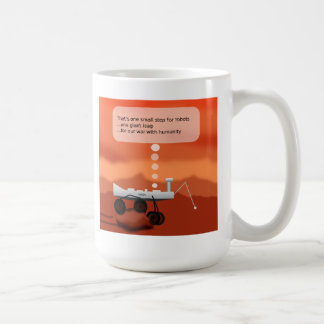 Small Step Classic White Coffee Mug