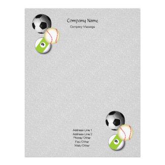 Small Stones Sports Stationery Letterhead