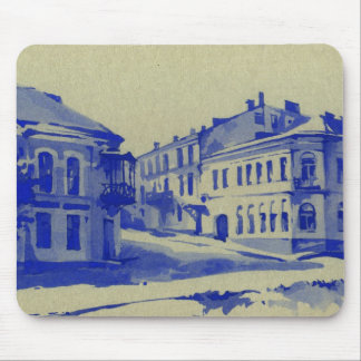 Small streets in the old town mouse pad