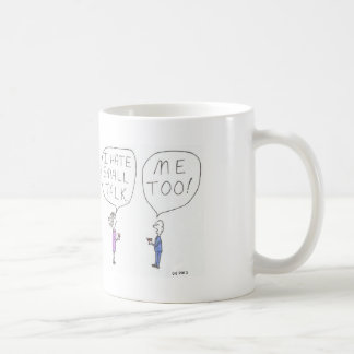 Small Talk Cartoon Mug
