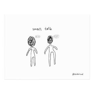 small talk postcard