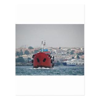 Small Tanker Yagmur Deniz Postcard