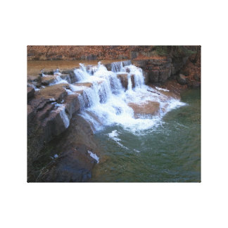 Small Taughannock Falls Canvas Print