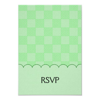 Small Textured Green Patchwork Pattern Announcements