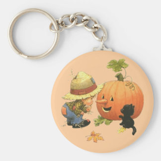 Small the gar�on and the pumpkin - keychain