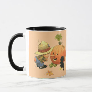 Small the gar�on and the pumpkin - mug