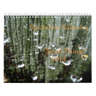 """Small Things"" 2014 Custom Printed Calendar"