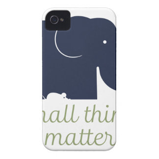 Small things matter.pdf iPhone 4 case