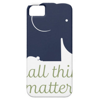 Small things matter.pdf iPhone SE/5/5s case