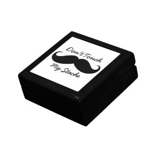 Small Tile Gift Box - Don't Touch My Stache