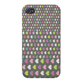 Small to Big Hearts iPhone 4 case
