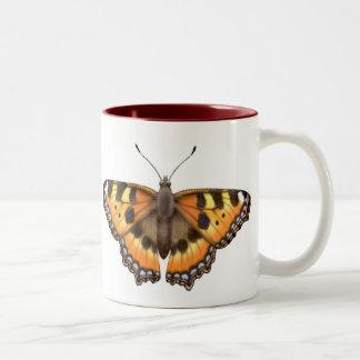 Small Tortoiseshell Butterfly Mug