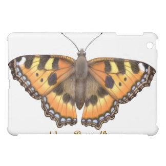 Small Tortoiseshell Vanessa Butterfly Customizable iPad Mini Case