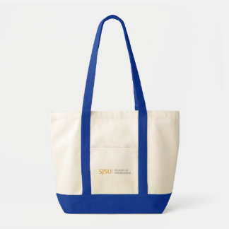 Small Tote - Gold/Gray iSchool Logo