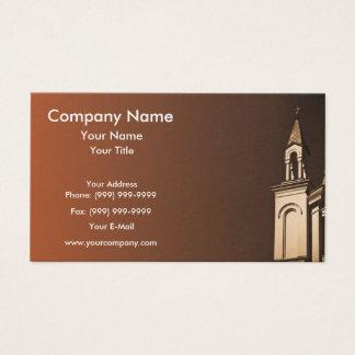 Small Tower Business Card