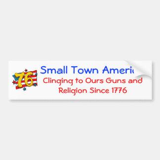 Small Town America Bumper Sticker