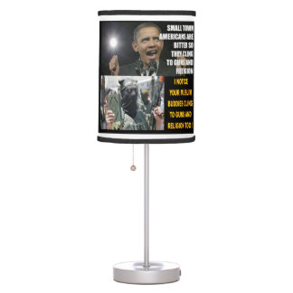 SMALL TOWN AMERICANS TABLE LAMP