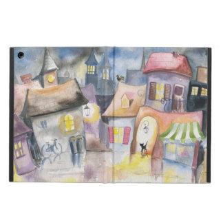 Small town at night iPad air covers