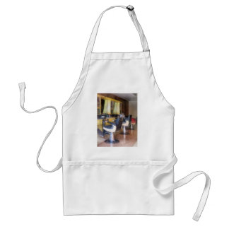 Small Town Barber Shop Adult Apron