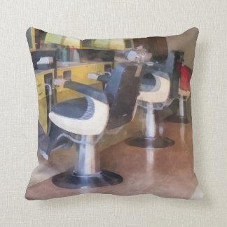 Small Town Barber Shop Pillows