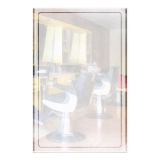 Small Town Barber Shop Stationery
