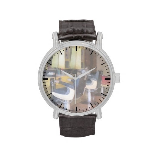 Small Town Barber Shop Wristwatches