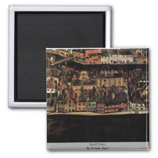 Small Town,  By Schiele, Egon Magnet