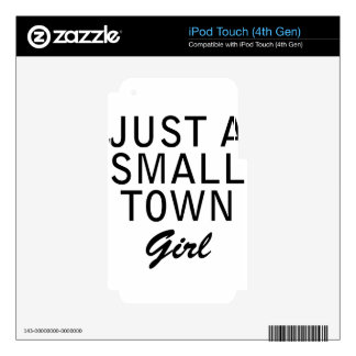 small town decals for iPod touch 4G