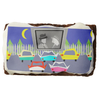 Small Town Drive-In Movie Brownies Rectangular Brownie