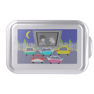 Small Town Drive-In Movie Cake Pan