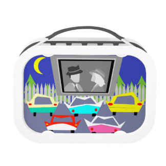 Small Town Drive-In Movie Lunch Box