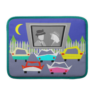 Small Town Drive-In Movie MacBook Air Sleeve